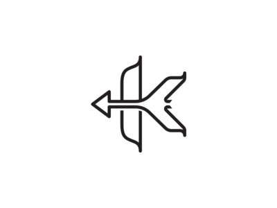 Bow+Arrow=Letter ?