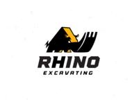 Rhino Excavating Logo