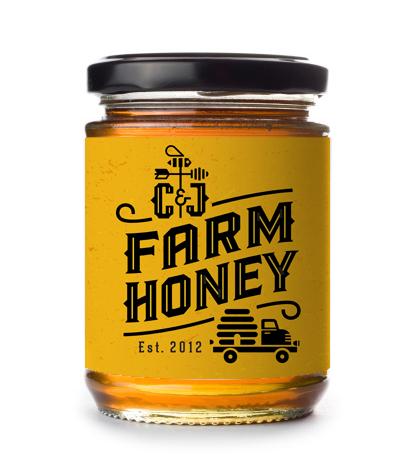 Cj farm honey  jar smeifinal