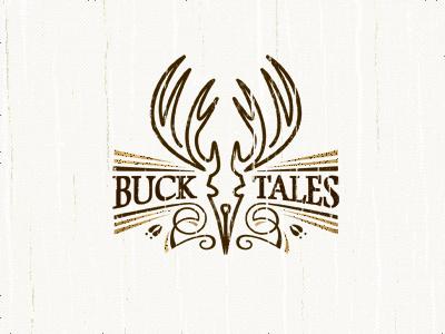 Buck Tales deer buck writer pen tip outdoors skull