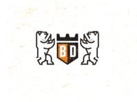 Bulldog Crest-drib
