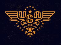 USA Eagle 1776–drib