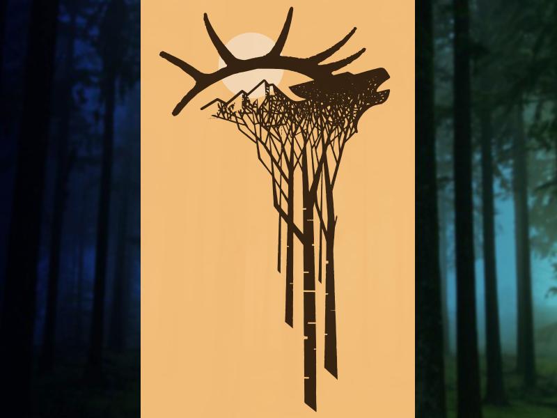 Elk drib