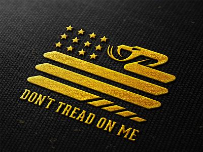 Don't Tread On Me cap_Drib illustration bruner mike design cap patriot america starsandstrips flag snake