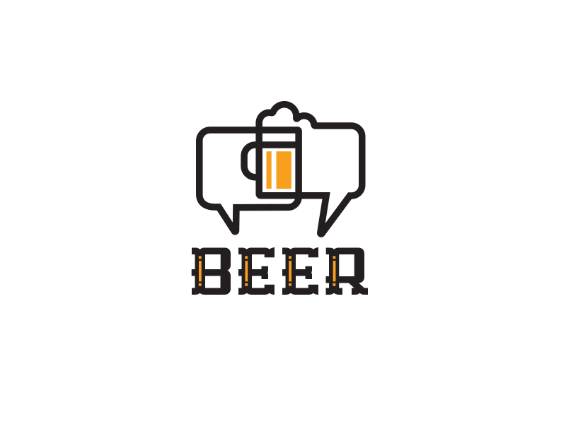 Friday_drib beer30ty bruner mike design logo illustration discuss chat beer