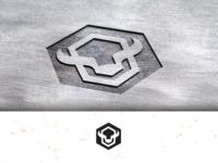 Bison-hexagon_drib