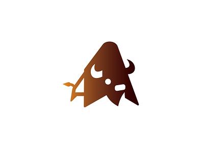 Bison2 Drib design logo mark icon graphic illustration bruner mike buffalo bison