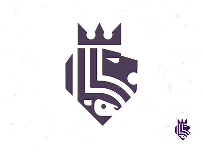 Lion Lamb_2018_drib icon bruner mike logo design stamp crest lamb lion