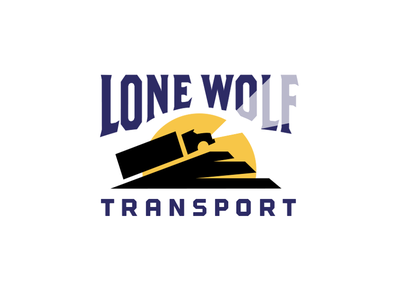 Lone Wolf Transport_drib longhaul transportation mike bruner moon transport trucking howl wolf semitrailer