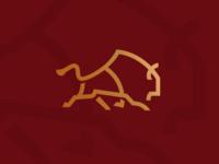 Bison Run_drib