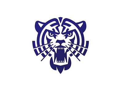 Tiger_drib brand illustration team cat animal designwisely design mikebruner logo mascot tiger