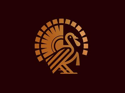 Turkey_drib illustration graphic designwisely icon design mikebruner bird animal turkey