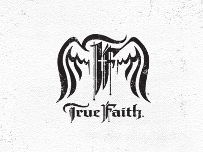 True Faith faith church youth logo graphic wings religion christian