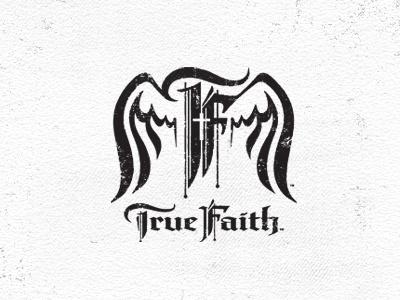 True Faith faith church youth logo graphic wings religion christian