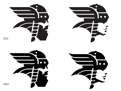 Norse 2 Drib mascot logo illustration viking design female male mikebruner norsemen norse