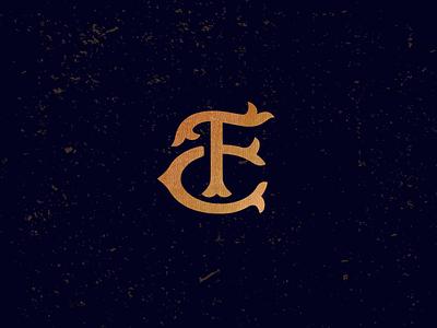 FC_drib logo monogram mark icon design mikebruner c f