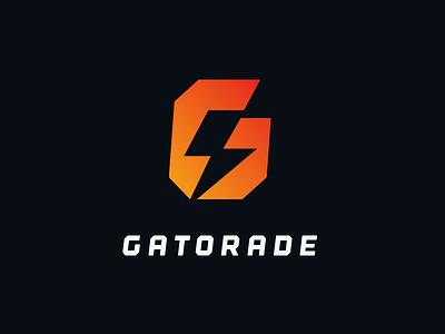 G Gatorade Drib icon. power gatorade design mikebruner lightening bolt g
