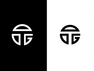 TG Drib 4 design icon mongram logo g t