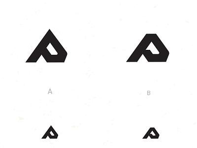 AP?_ drib graphic design logo monogram mikebruner ico p a