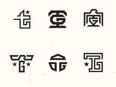 TG monograms drib