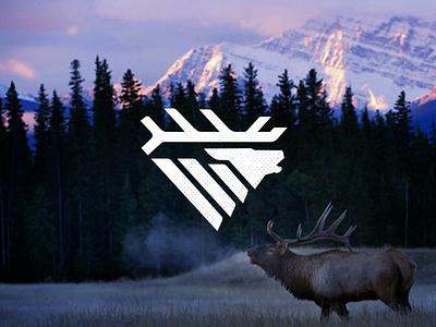 Elk Bugle drib 2 graphic design logo icon mikebruner rut bugle elk