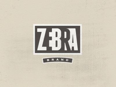 Zebra Brand_2 zebra clothing stripes black white logo brand design iconic mark