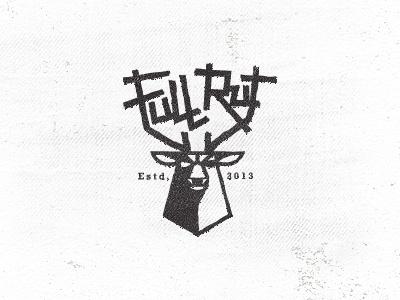 Full Rut_2 fight rut dominate horns animals logo icon design graphic strength mountain mike bruner testosterone illustration