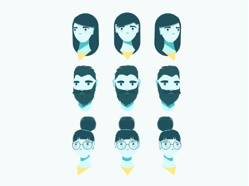 Character Designs By Jess Kerss Dribbble Dribbble