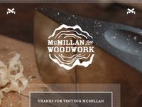 Fine Woodworking Splash Page