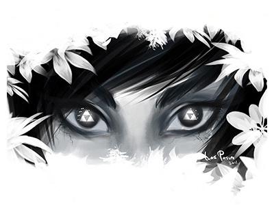 The LoZ ilias illustration sketch legend of zelda fan art game art