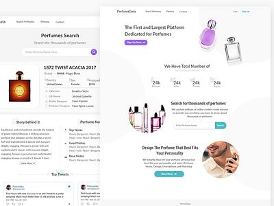 Perfumes Platform clean analytics data perfume perfumes