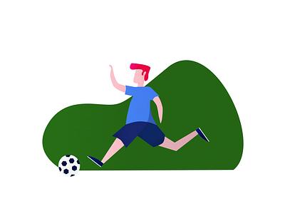 Missing Soccer soccer edit character illustration fifa ball minimalist design soccer