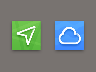 Map And Weather Icons sanityd