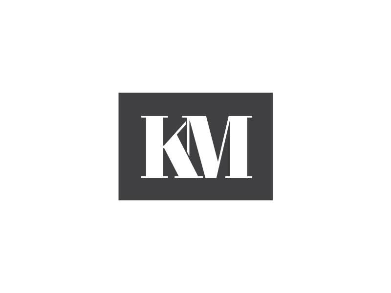 Km Monogram By Stetson Finch On Dribbble