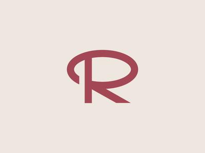R logotype brand monogram simple branding logos logo letter r typography type letter r