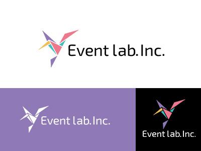 Event lab.Inc. asia colorful japan brand symbolmark logo identity