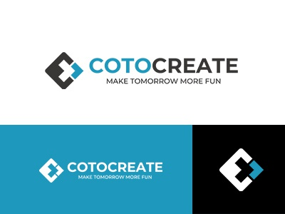 COTOCREATE brandlogo corporate identity simple symbolmark logo minimal identity