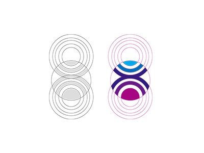 Simple gridwork logo inspiration grid designwork minimal brand symbolmark identity