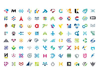 MSD LOGOWORKS & LOGOCOLLECTION 2013-2018 works designworks colorful japan brand simple collection symbolmark logo minimal identity
