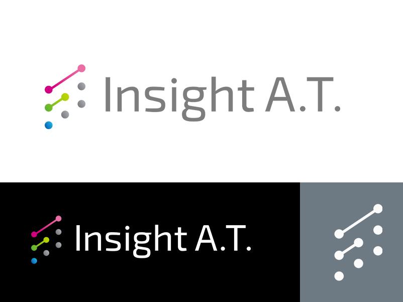 Insight A.T. Corporation corporatelogo minimallogo gradation designworks colorful japan brand simple symbolmark minimal logo identity