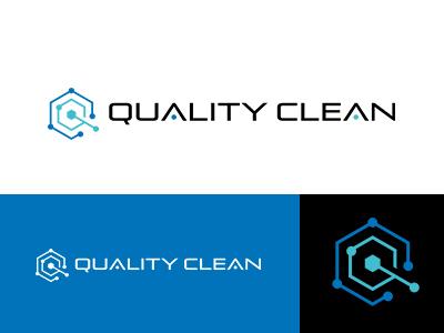 Quality Clean corporatelogo clean quality designworks blue colorful japan brand simple symbolmark logo minimal identity