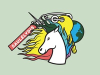 Vytas Unicorn Patch