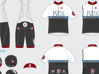 Boscos Cycling - 2013 Kits bibs cycling uniform kit