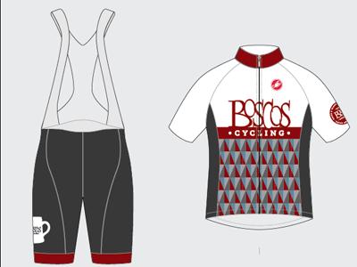 Boscos Cycling - 2014 bibs cycling uniform kit