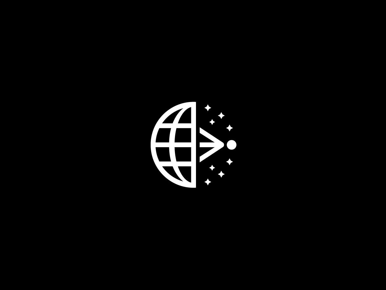 Event Horizon Telescope Logo logo geometric space mark symbol design telescope horizon event
