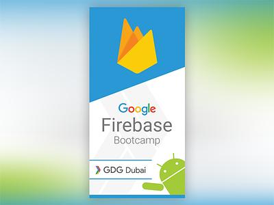 Google Firebase Bootcamp Banner gdg firebase banner google