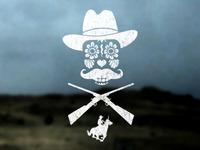 Sugar Skull Cowboy