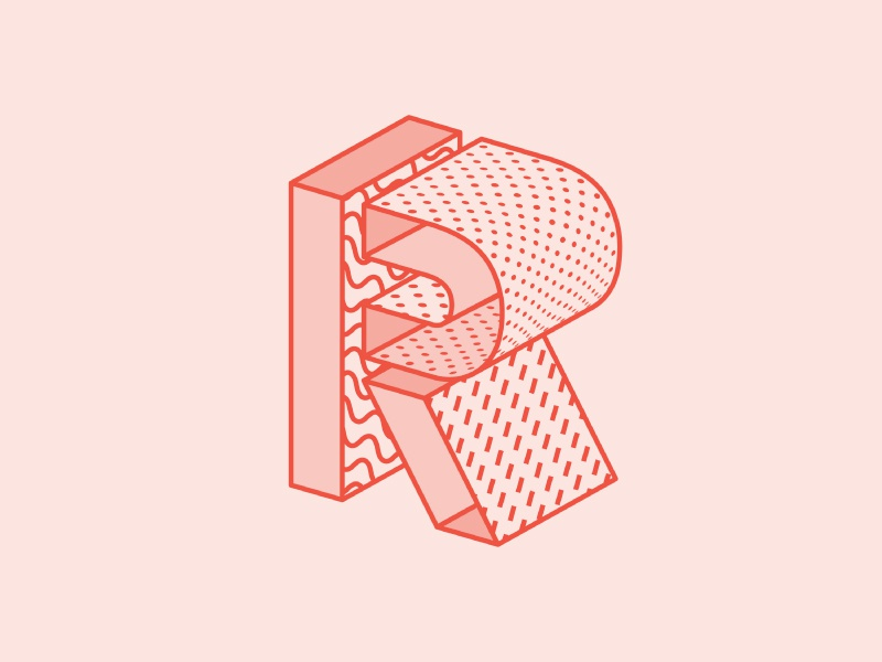 R 36 days of type by amber anderson dribbble for Product design jobs amsterdam