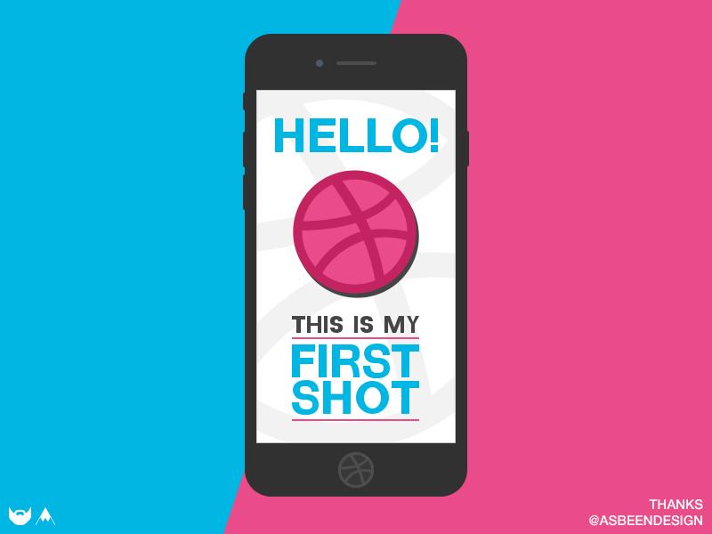 First Shot first shot flat photoshop debuts mobile design mockup