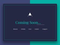 Coming soon portfolio